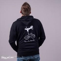 Gilet zippé coton bio Vélo