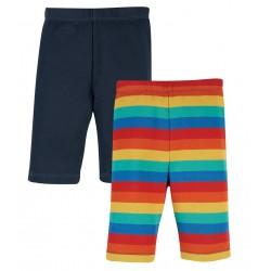 Lot 2 Shorts coton bio Cycliste