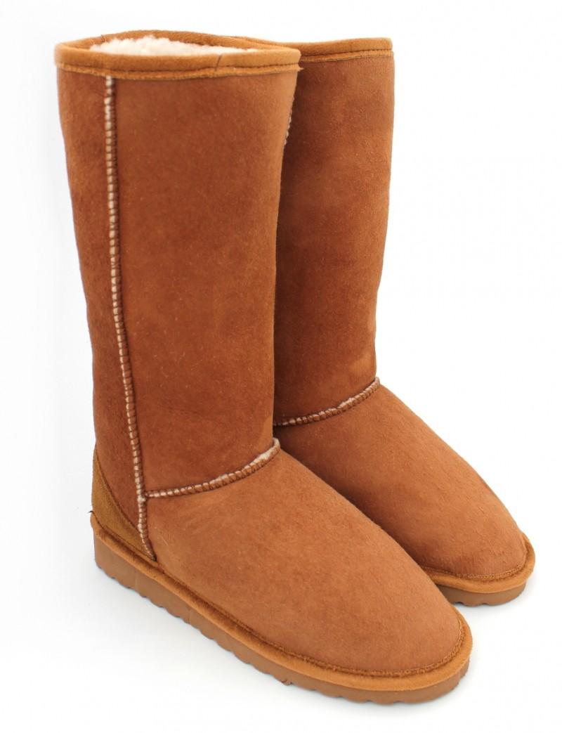 chaussures femme - bottes fourrées - meli melo bio