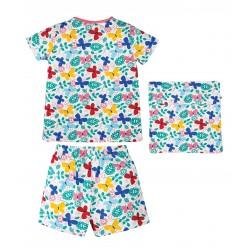 Pyjama coton bio Papillons