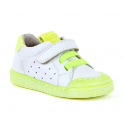 Baskets Flex white-yellow fluo