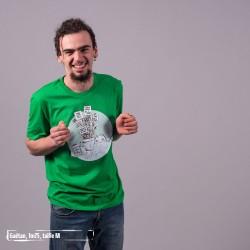 Tee-shirt coton bio Graine De Changement Vert