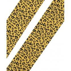 Collants en coton bio Léopard