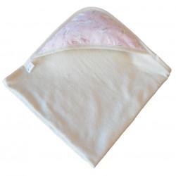 Sortie de bain coton bio Licorne