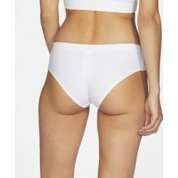 Slip coton bio Blanc