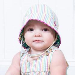 Chapeau coton bio Réversible Sun