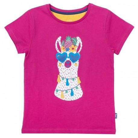 T-Shirt coton bio Lama