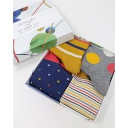 Coffret 4 paires chaussettes bambou Shay