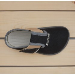 Barefoot en toile Charcoal