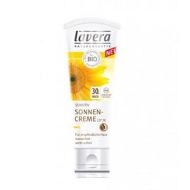 Crème solaire FPS30 sensitive 75 ml Lavera