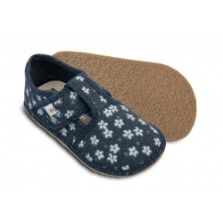 Bar3Foot Chaussons textile flower