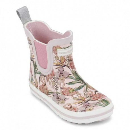 Bottes de Pluie Charly Low Rose Flamingo
