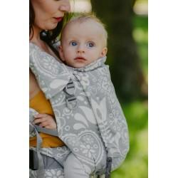 Porte bébé physiologique 4ever Neo Folk Grey