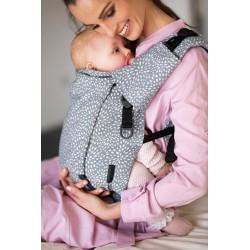 Porte bébé physiologique 4ever Neo Bloom Gris