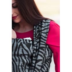 Écharpe de portage Zebra - Grey