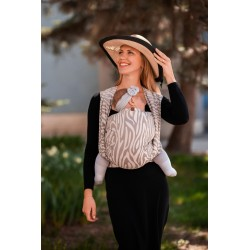Écharpe de portage Zebra Latte
