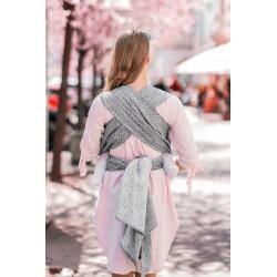 Écharpe de portage Bloom Grey