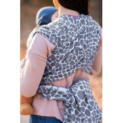 Écharpe de portage Giraffe Grey