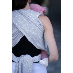 Écharpe de portage Dots gris
