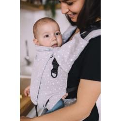 Porte bébé physiologique 4ever Neo Dots Grey