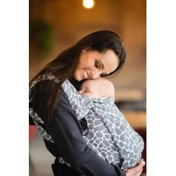 Porte bébé physiologique 4ever Neo Girafe Gris