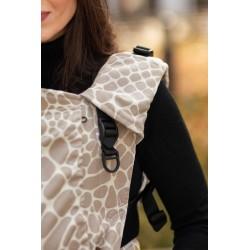 Porte bébé physiologique 4ever Neo Girafe Latte