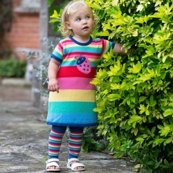 Leggings coton bio Stripy