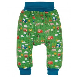 Pantalon coton bio Ferme