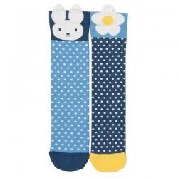 Lot 2 paires chaussettes coton bio Happy