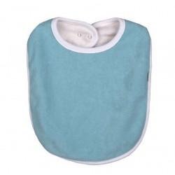 Bavoir coton bio Bleu Vintage