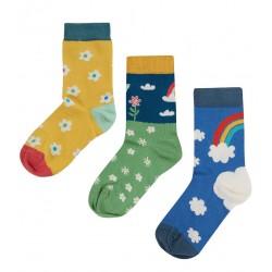 Lot 3 paires chaussettes coton bio Etoile