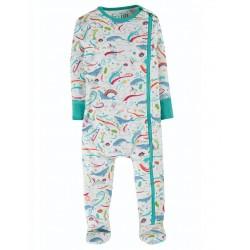 Pyjama coton bio Zip Wave