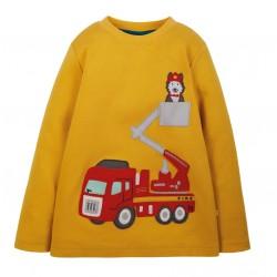 T-Shirt coton bio Pompier