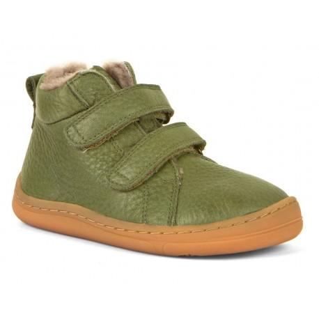 Boots barefoot dark blue
