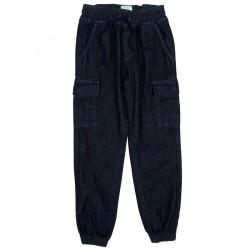 Pantalon coton bio Cargo Denim