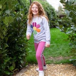 Jogging coton bio Stripe