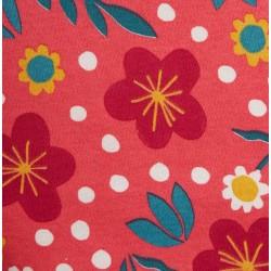 Pantalon coton bio Flower