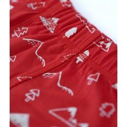 Lot 3 boxers coton bio Mountain