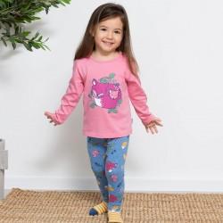 Legging coton bio Animaux