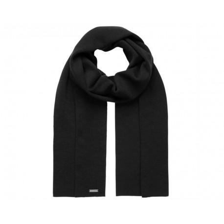 Echarpe laine Mérinos Tressenstein Noir