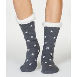 Chaussons chaussettes coton bio Elisa