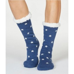 Chaussons chaussettes coton bio Brittany
