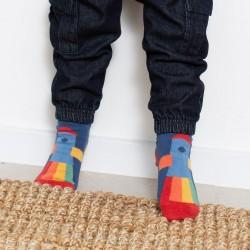 Lot 3 paires chaussettes coton bio Rocket