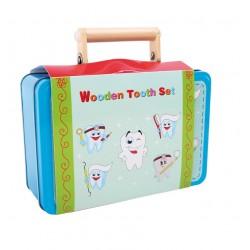 Valise set déguisement Dentiste