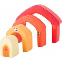 Bloc construction bois Maison