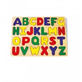 puzzle en bois abc