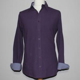 chemise coton bio myrtille braintree
