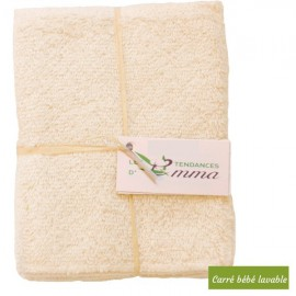 Lot de 5 lingettes lavables