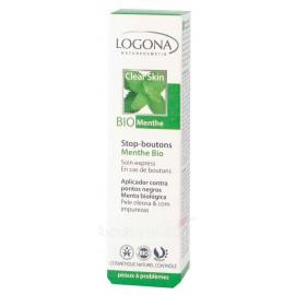 SOS boutons menthe bio peau acnéique ou impure 6ml