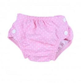 Couche de piscine anti-uv UPF 50+ Dots Pink